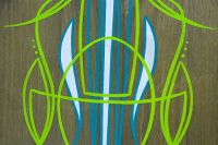 Wooden Pinstriping Panel (3 colors)