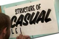 The ABC of Sign Painting Volume 2 - Casual Lettering