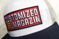 Customized Magazin - Cap - White / Light Grey / French Navy