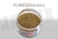 Custom Creative Metal Flakes - SUN GOLD 3oz size 008