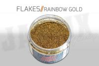 Custom Creative Metal Flakes - RAINBOW GOLD 3oz size 008