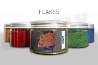 Custom Creative Metal Flakes - ESMERALD GREEN 3oz size 008