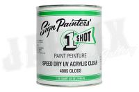 Speed Dry UV Acrylic Clear, 946ml, Gloss