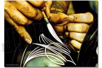 Pinstriping Hands