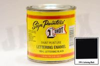 1Shot 199-L Lettering Black 236 ml