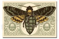 DEATH'S HEAD MOTH yellow edition