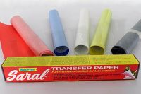 Saral Transfer Papier - Weiss