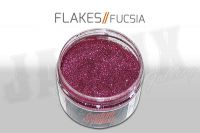 Custom Creative Metal Flakes - FUCSIA 3oz size 008