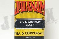 Alphanamel BIG MEAS' FLAT BLACK 118ml