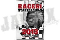 Customized Magazin Kalender 2013 Race61 Startergirls