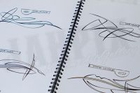 Pinstriping Instruction & Designs By Todd Hanson